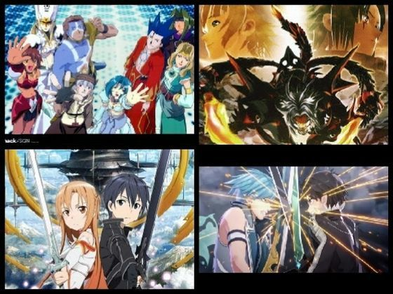 The diffrence between .Hack seasons and Sword Art Online.