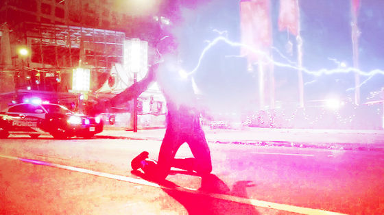 """'And an idiom detto """"lightning never strike twice""""...' - The Flash."""