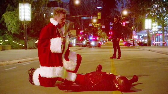 'I'm laying flat on the strada, via for the bazillion times.' - The Flash.