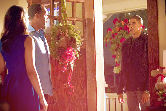'Papa! Sister! I came here without telling te first. Surprise!' - Wally West.
