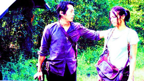 Steven Yeun & Lauren Cohan as Glenn & Maggie, Them, 5x10