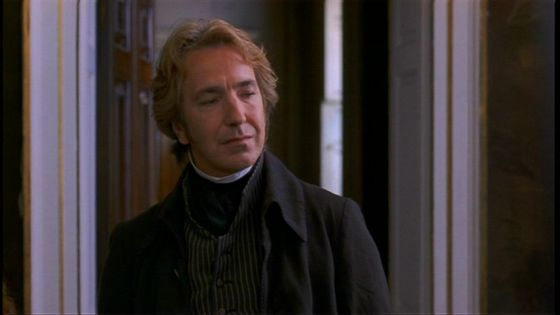 Rickman played a lead role in Ang Lee's film Sense and Sensibilty