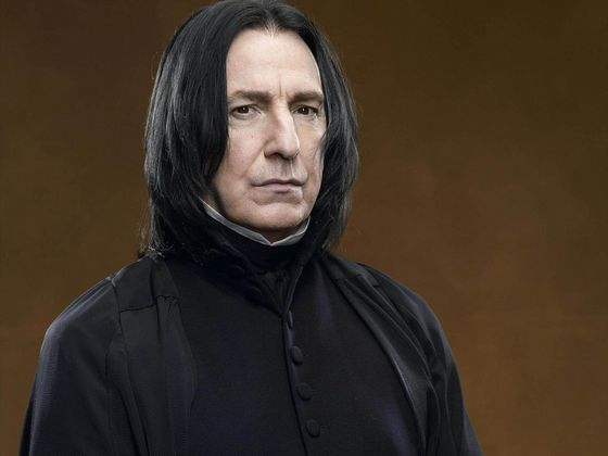 Rickman though was known all over the world for his role as Professor Severus Snape in the Harry Potter films