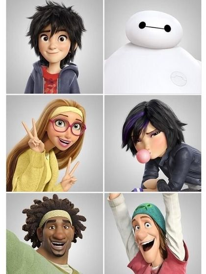 Team BIG HERO 6 Reunite !
