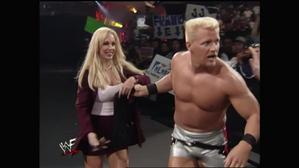 Debra at the Royal Rumble!