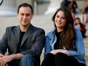 Liz Wessel and J.J. Fliegelman, Co-Founders of WayUp