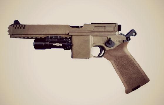 Cole's DL-45 Blaster Pistol