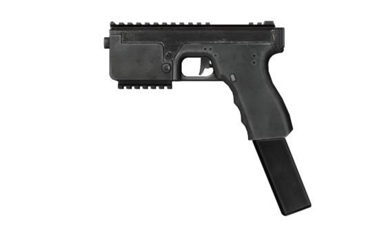 DAO-1 Bolt Pistol