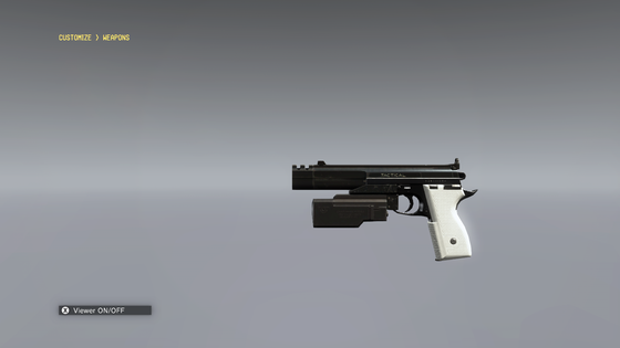 AC-90 Heavy Blaster Pistol