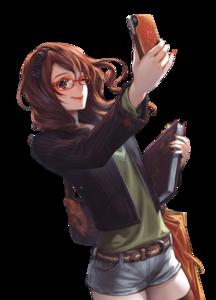 Tara with glasses