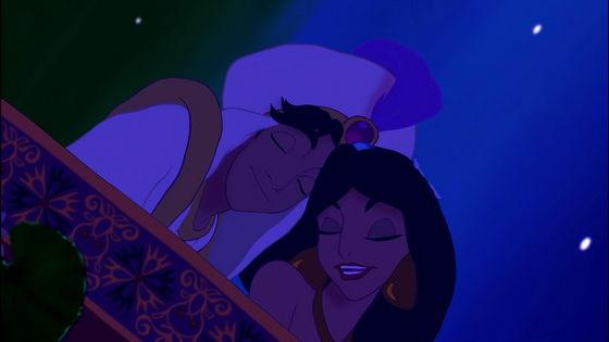 Sweetie 9439s top 10 most romantic dp movie moments for Aladdin carpet ride scene