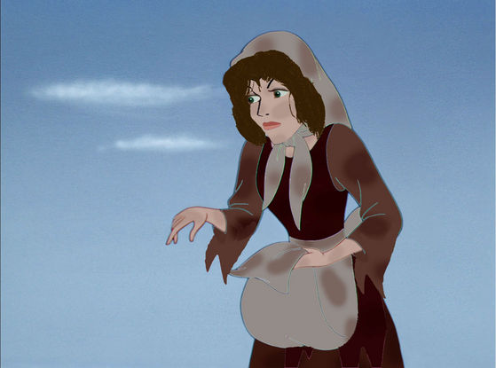 The Wicked Stepmother actually had humble beginnings