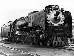 Union Pacific 844, now renumbered as 8444