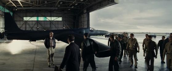 That's a real U-2 spy plane