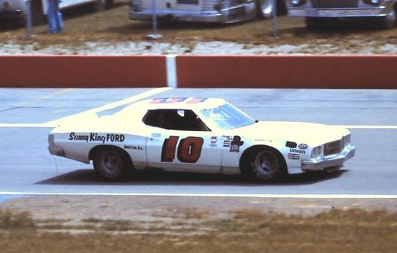Mr. Bruce's race car