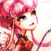An icon I made of C.A. Cupid from Ever After High