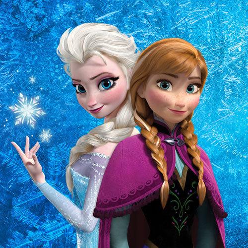 Anna and Elsa.