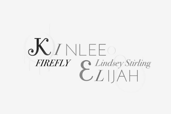 Kinlee And Elijah Firefly (Lindsey Stirling Third Album)