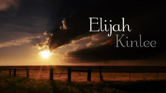 Kinlee And Elijah Word fondo de pantalla