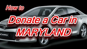 Donate your car in Maryland