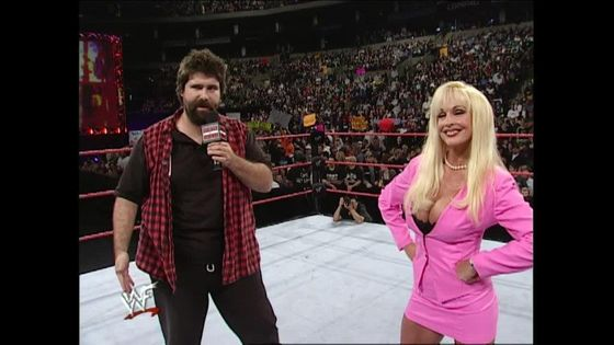 Mick Foley and Debra, the new team in charge of the WWF!