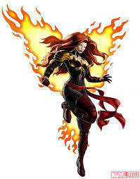 Jean Grey as one of the Phoenix Five in M:AA