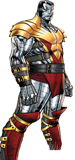 Colossus as one of the Phoenix Five