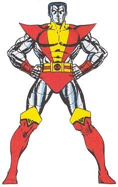 Colossus in his original costume