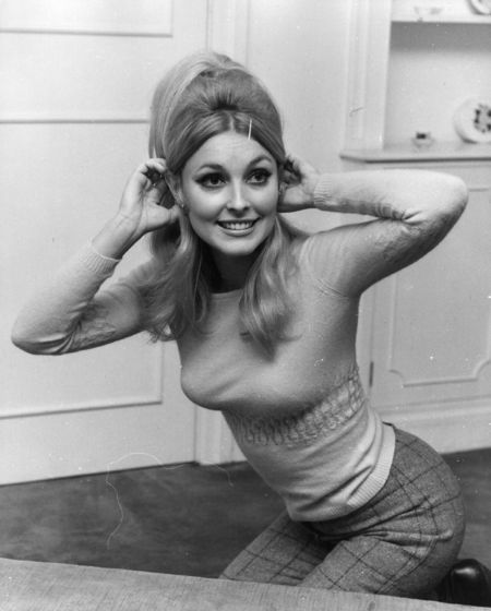The mouthwatering Sharon Tate. Prettiest lady ever!