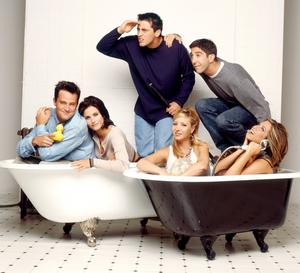 """'Friends"""" in the bathtub (""""Freunde"""" in der Badewanne) German"""