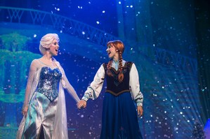 Anna and Elsa from Hong Kong Disneyland.