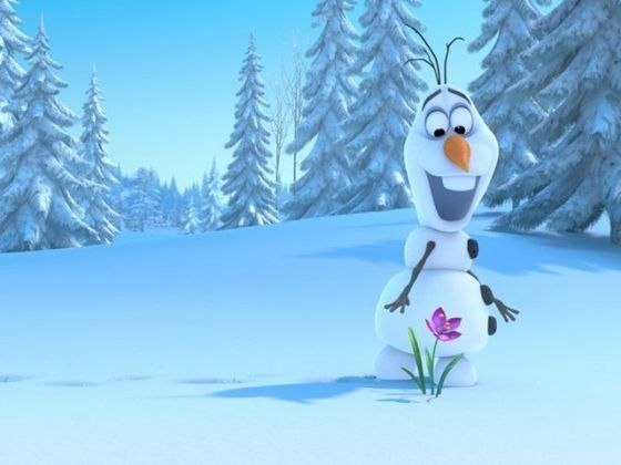 Olaf the Snowman!