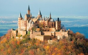 Hohenzollern Castle, pretty setting for a Wagnerian Opera.