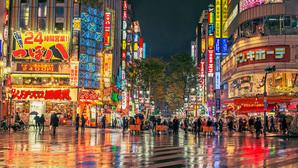Neon Lights of Tokyo.