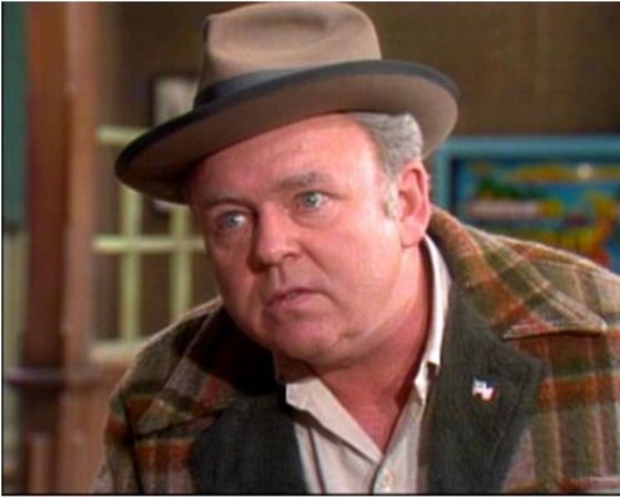 "7. Archie Bunker from ""All in the Family""."