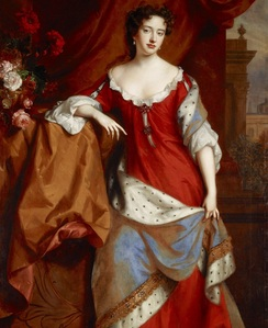 Portrait of Babylon as Queen Anne
