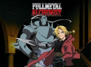 Even if the Japanese script makes mais sense in some areas, I still prefer FMA's English Dub.