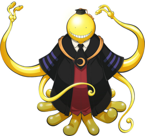 Koro-Sensei is not pleased with these heretics.