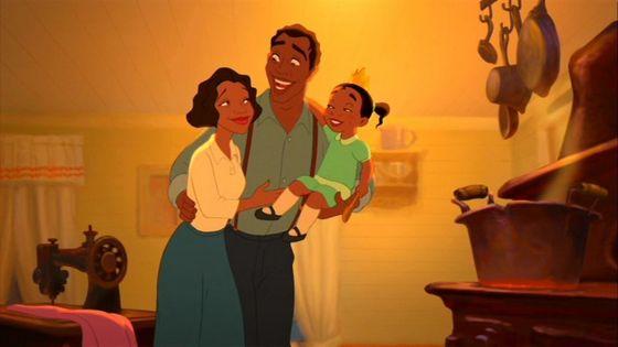 Eudora, James, and Tiana