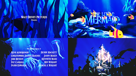 ★ Main Titles/Journey of a Fish/King Triton's Palace ★