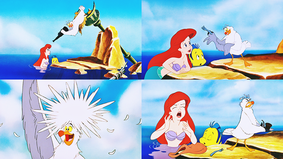 ★ Scuttle, the know-it-all/Ariel remembers ★