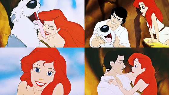 ★ Max and Prince Eric Finds Princess Ariel/A mute Beauty/Eric Helps ★