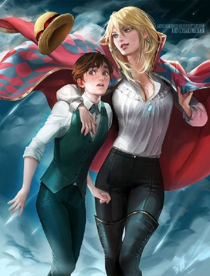 Sophie and Howl - 'Howl's Moving Castle'