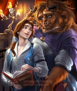 Belle and Beast - 'Beauty and the Beast'