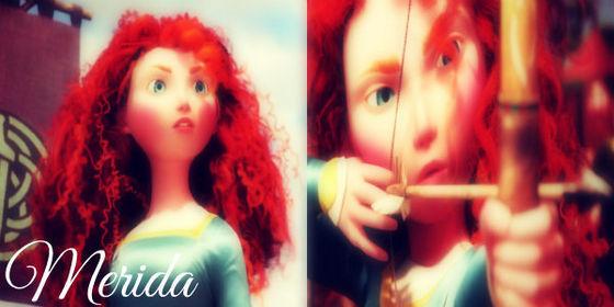 I am Merida!