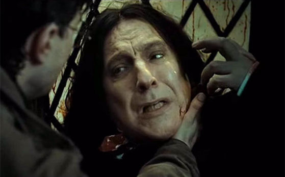 toi have your mother's eyes, RIP Alan Rickman!
