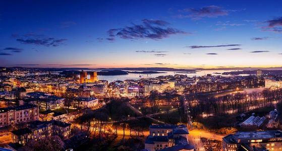 Oslo द्वारा night.