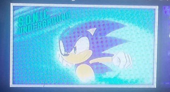 The image right now on Netflix in Sonic Underground