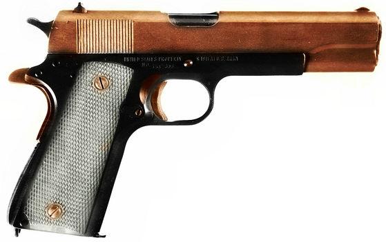.45 ACP, 7 rounds