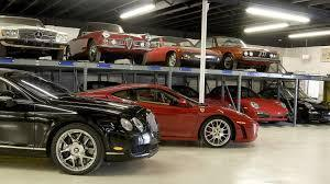 Exotic car storage